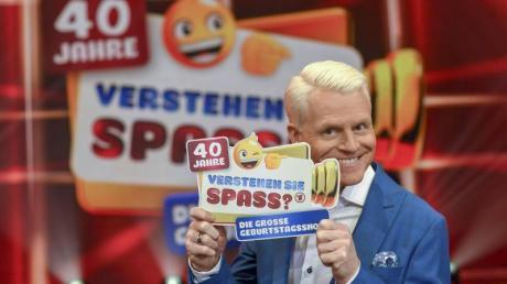 """Guido Cantz präsentierte die Jubiläumsausgabe von «Verstehen Sie Spaß?""""."""