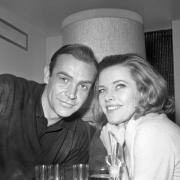 Er war James Bond, sie Pussy Galore:Sean Connery und Honor Blackman.