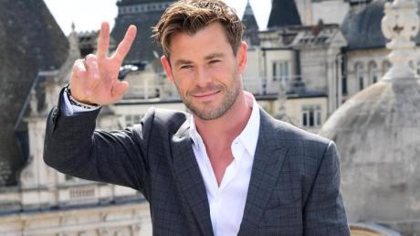 Schauspieler Chris Hemsworth ist Action-Profi.
