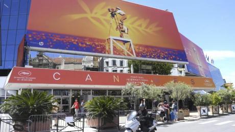 Das Palais des Festivals von Cannes im letzten Jahr.