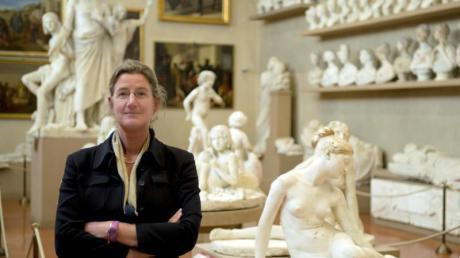 Museumschefin Cecilie Hollberg in der Galleria dell'Accademia.