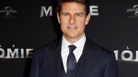 Tom Cruise: Der Schauspieler und die planen einen Dreh an Bord der ISS.