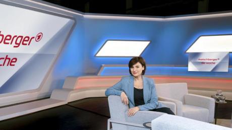 Sandra Maischberger, Gastgeberin und Moderatorin der Talk-Show «Maischberger - Die Woche».