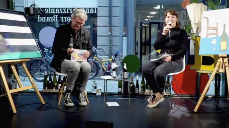 Der Livestream der Club- und Kulturkommission im Tante Frizzante mit Christopher Kochs und Eva Kruscher