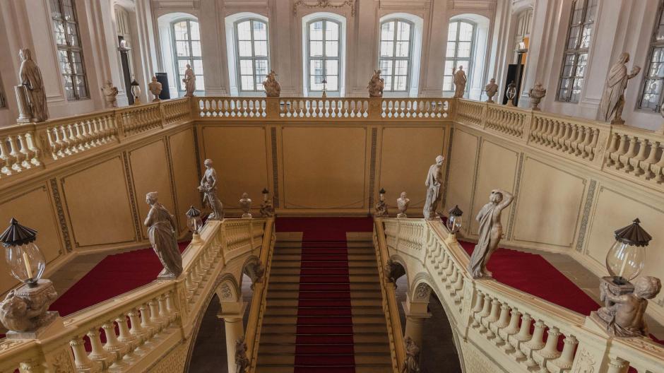 Das von Balthasar Neumann entworfene Treppenhaus.