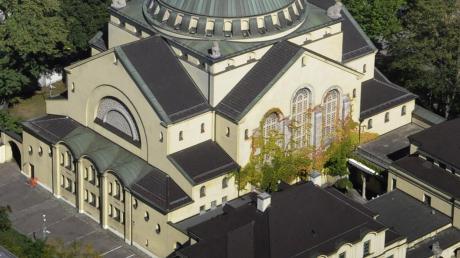 Einst wie heute Zentrum des jüdischen Lebens in Augsburg: die Synagoge unweit des Königsplatzes.