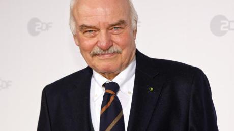 Der Schauspieler Charles Brauer macht auch mit Mitte 80 weiter.