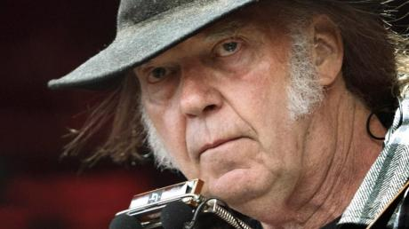 Neil Young hat noch jede Menge auf Lager.