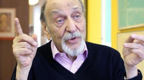 Milton Glaser ist an seinem 91. Geburtstag in Manhattan gestorben.