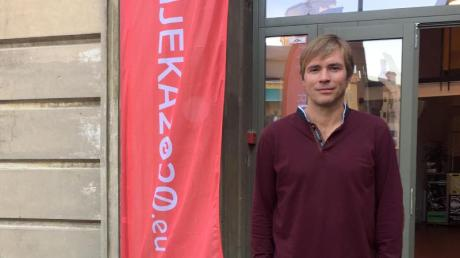 Ivan Sarar, Leiter der Kulturhauptstadt-Agentur 2020 im kroatischen Rijeka.