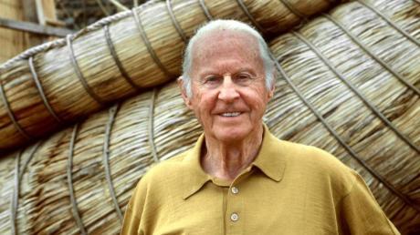 Der norwegische Abenteurer, Entdecker und Völkerkundler Thor Heyerdahl (1998).