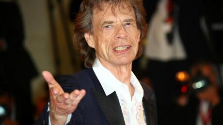 Mick Jagger bei den Filmfestspielen in Venedig 2019.