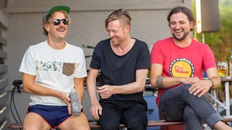 Die drei von KaraUke: von links Jakob Mader, Michael Dannhauer und Benjamin Rademann.