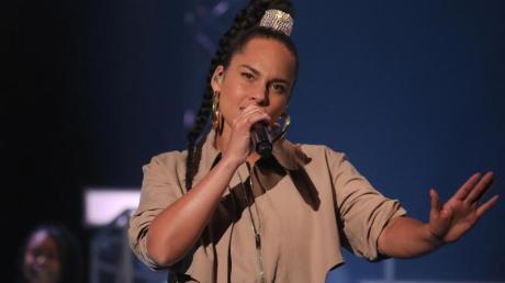 Die Fans von Alicia Keys mussten sich gedulden.