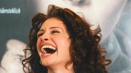 Ihr Lachen ist berühmt:Julia Roberts bezauberte in «Pretty Woman».