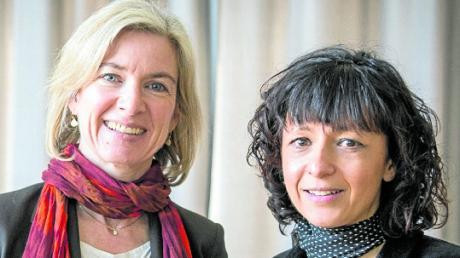 Die Biochemikerin Jennifer A. Doudna (links) und die Mikrobiologin Emmanuelle Charpentier.