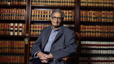 Ein Ökonom für Menschlichkeit: der Inder Amartya Sen.