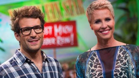 Sonja Zietlow und Daniel Hartwig, die beiden Moderatoren des RTL-Dschungelcamps».