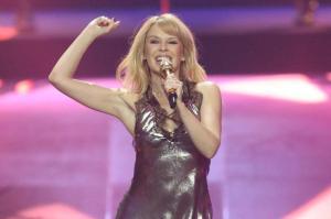 """Versprechen und Sehnsucht zugleich:Kylie Minogues neues Album """"Disco""""."""