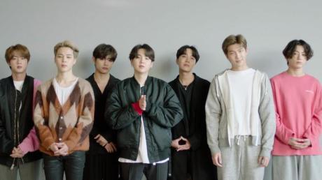 Die Jungs von BTS, die bei den MTV Europe Music Awards die meisten Preise einheimsen konnten.