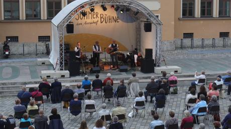 Konzerte nach dem Lockdown im Frühjahr gab es beim Kultursommer im Annahof.