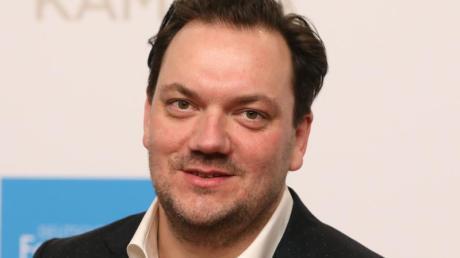 Charly Hübner 2018 bei der Verleihung der Goldenen Kamera.