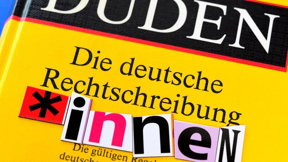 Genderkonforme Sprache Der Neue Duden Und Die Geschlechtergerechtigkeit Augsburger Allgemeine