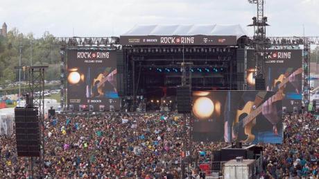 Auftritt von Feine Sahne Fischfilet bei «Rock am Ring» 2019.