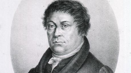 """Er selbst neigte zu """"Hautschwäche"""" und Erkältungen: Johann Evangelist Wetzler."""
