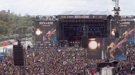 """""""Rock am Ring"""" wird es in diesem Jahr nicht geben. So sah es 2019 am Nürburgring aus."""