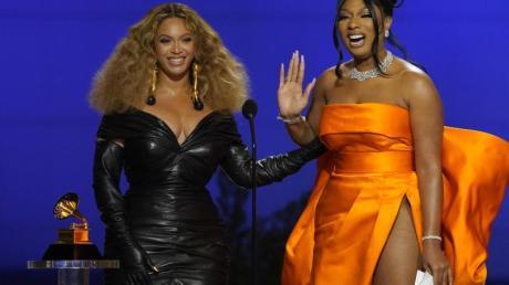 Sie waren die Stars des Abends:Beyoncé und Megan Thee Stallion.