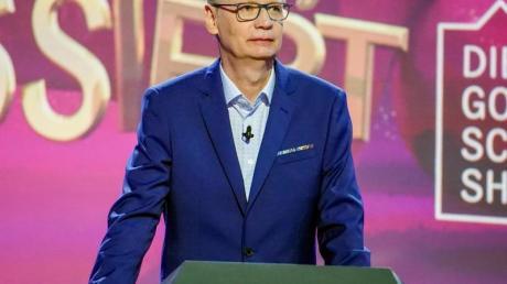 Der mit Corona infizierte Fernsehmoderator Günther Jauch muss am 17.04.2021 ein zweites Mal passen.