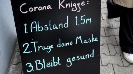Ganz so einfach wie auf dem Schild ist es nicht überall und immer. Was derzeit im Landkreis Dillingen gilt.