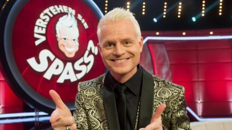 Guido Cantz 2016 vor der Aufzeichnung der Show «Verstehen Sie Spaß?».