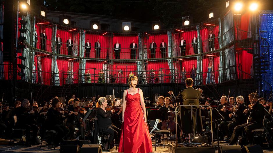 Staatstheater Augsburg: Augsburger Philharmoniker bringen großes Opern-Spektakel  auf die Freilichtbühne   Augsburger Allgemeine