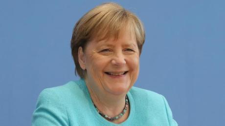 Das letzte Mal als Kanzlerin bei den Bayreuther Festspielen:Angela Merkel.