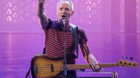 Ein Superstar auf dem Reeperbahn Festival:Sting gibt den Startschuss.