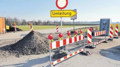 Die Arbeiten zur Sanierung der Ortsverbindung Prittriching - Winkl sind angelaufen. Insgesamt kostet das Projekt rund 1,3 Millionen Euro.