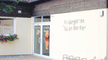 Der Penzinger Kindergarten St. Martin.