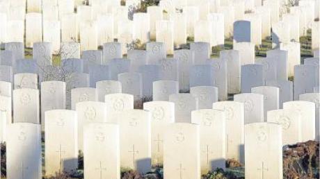 Der Volksbund pflegt derzeit in 45 Ländern die Gräber von 2,3 Millionen gefallener Soldaten beider Weltkriege.