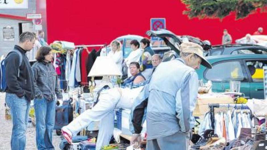 Buchloe flohmarkt