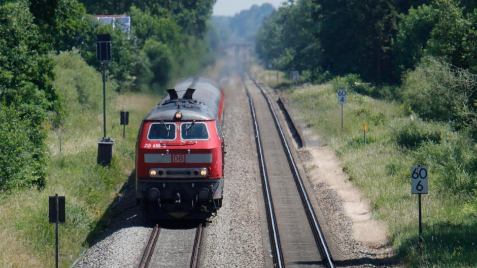 Verkehr Ausbau Der Bahnstrecke München Lindau Soll Im