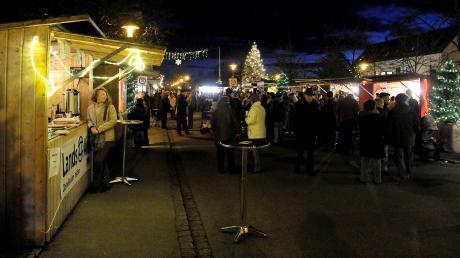 """Beim """"Advent am Fuggerplatz 2019"""" in Kaufering wird es heute wieder weihnachtlich. Infos zu Start, Öffnungszeiten, Terminen und Programm: hier."""
