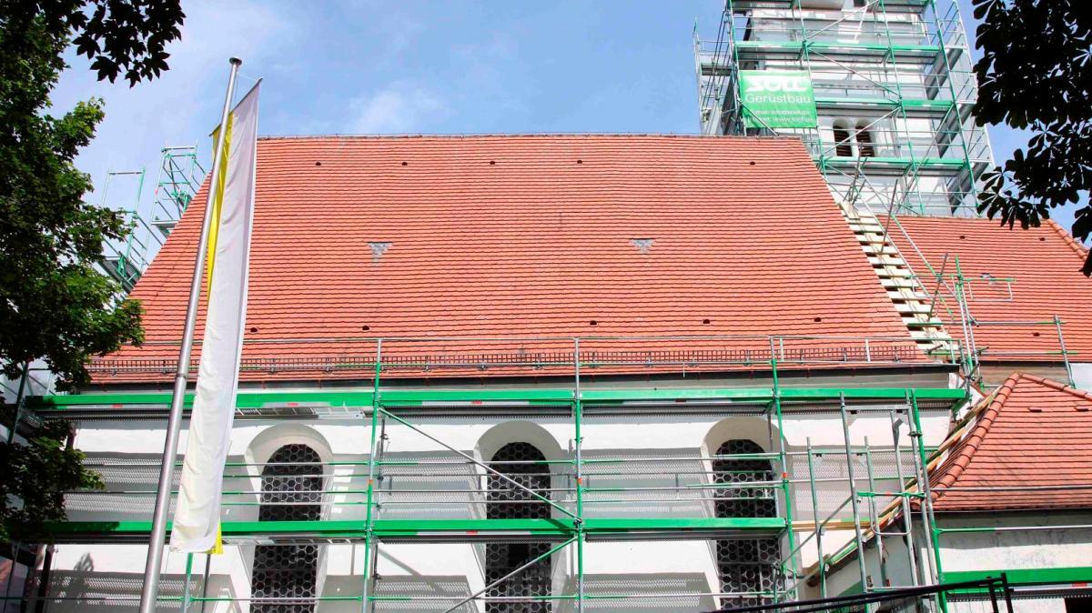 renovierung singen und spenden f r st mauritius nachrichten landsberg augsburger allgemeine. Black Bedroom Furniture Sets. Home Design Ideas