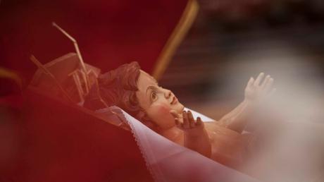 Aus einer Kirche in Riedlingen wurde das Christuskind gestohlen.