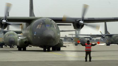 Transall in Penzing: Das Lufttransportgeschwaders 61 hat im vergangenen Jahr seinen Betrieb eingestellt.