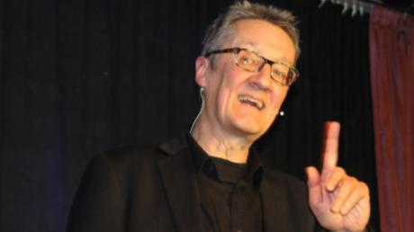 Holger Paetz begeisterte sein Publikum in Egling.