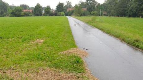 """Am Dienstag geht es im Unterdießener Gemeinderat wieder um das geplante Baugebiet an der Straße """"Am Lech"""" in Dornstetten."""