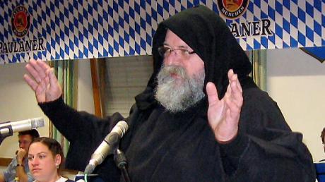 Martin Wölzmüller ist als Pater Martin durchaus gefürchtet.