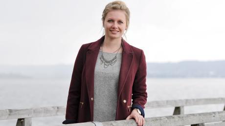 Lisa Papperger, 24 Jahre, aus Holzhausen am Ammersee will Bayerische Bierkönigin werden.